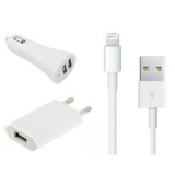 Зарядно 3 в 1 (USB 12V 220V) за iPhone 5
