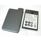 Подсилена Батерия  за HTC Desire Z + заден капак