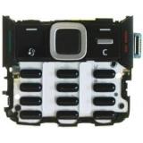 Клавиатура и Клавиатурна платка черна за Nokia N82